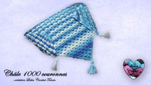 Châle 1000 couronnes Lidia Crochet Tricot