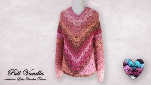 Pull Vanilla Lidia Crochet Tricot
