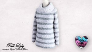 Pull Lyly Lidia Crochet Tricot