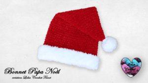 Bonnet Papa Noël Lidia Crochet Tricot