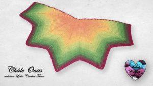 Châle Oasis Lidia Crochet Tricot