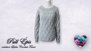 Pull Épis Lidia Crochet Tricot
