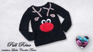 Pull Réno Lidia Crochet Tricot