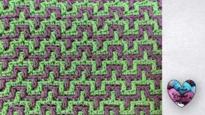 Mosaic crochet Lidia Crochet Tricot