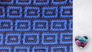 Mosaic 2 crochet Lidia Crochet Tricot