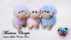 Moutons Choupis Lidia Crochet Tricot