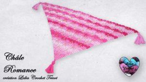 Châle Romance Lidia Crochet Tricot