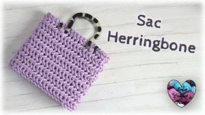 Sac Herringbone Lidia Crochet Tricot
