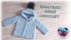 Manteau bébé Lidia Crochet Tricot