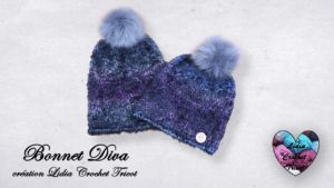 Bonnet Diva Lidia Crochet Tricot