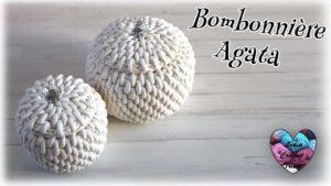 Bonbonnière Agata Lidia Crochet Tricot