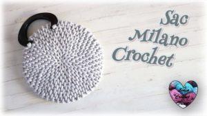 Sac Milano Lidia Crochet Tricot