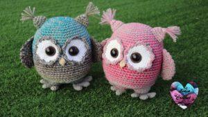 Hiboux amigurumi Lidia Crochet Tricot