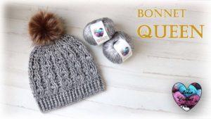Bonnet The Queen Lidia Crochet Tricot