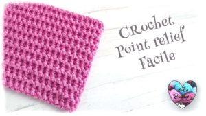 Point relief macramé Lidia Crochet Tricot