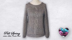 Pull Spring Lidia Crochet Tricot