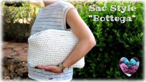 "Sac style ""Bottega"" Lidia Crochet Tricot"