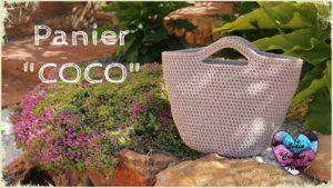 Panier Sac Coco Lidia Crochet Tricot