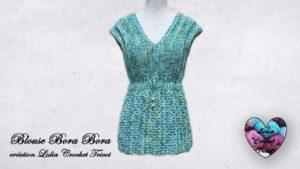 Blouse Bora Bora Lidia Crochet Tricot