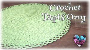 Tapis Omy Lidia Crochet Tricot