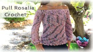 Pull d'été Rosalía Lidia Crochet Tricot