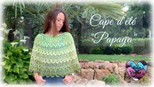 Cap d'été Papaya Lidia Crochet Tricot