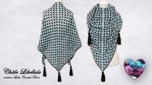 Châle Libellule Lidia Crochet Tricot