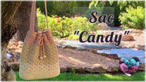 Sac Candy Lidia Crochet Tricot