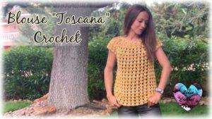 Blouse Toscana Lidia Crochet Tricot