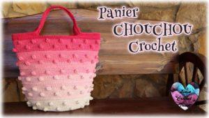 Panier Chouchou Lidia Crochet Tricot