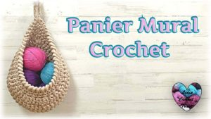 Panier Mural Lidia Crochet Tricot
