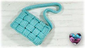 Sac style Bottega Lidia Crochet Tricot