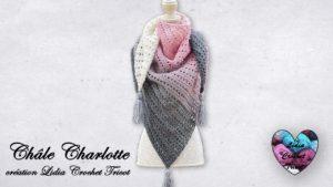 Châle Charlotte Lidia Crochet Tricot