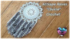Attrape rêves Divine Lidia Crochet Tricot