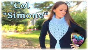 Col Simone Lidia Crochet Tricot