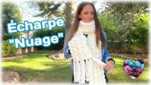 Écharpe Nuage Lidia Crochet Tricot
