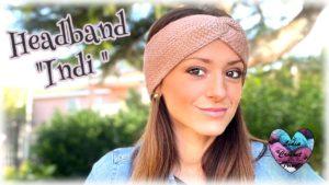 Headband Indi bandeau Lidia Crochet Tricot