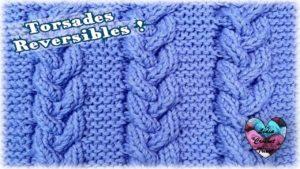 Torsades reversibles Lidia Crochet Tricot